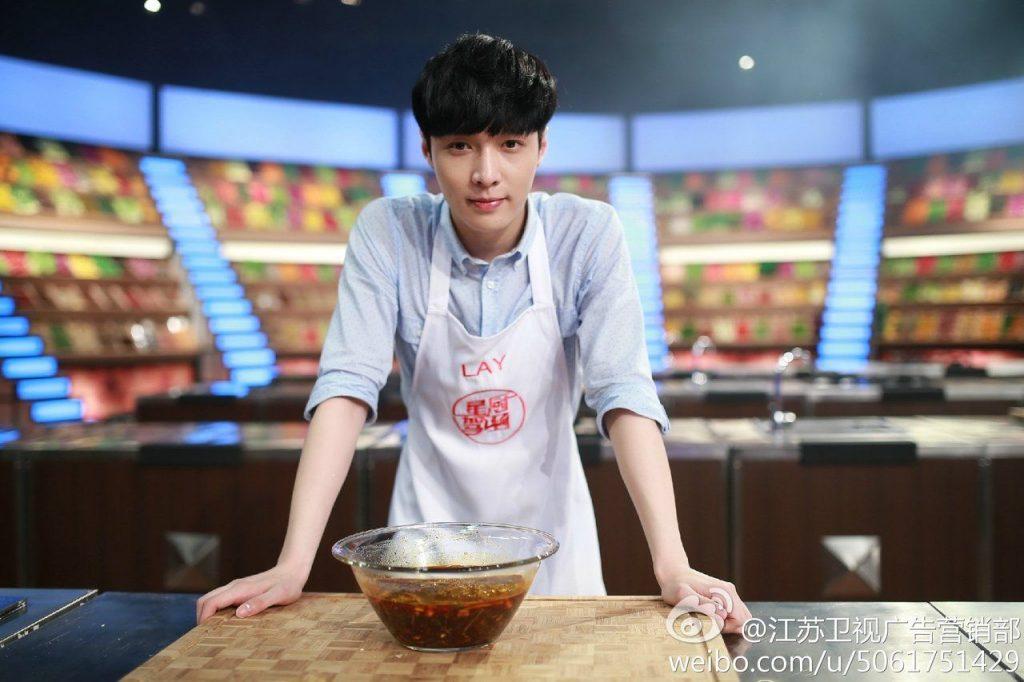 лэй exo кпоп любит готовить
