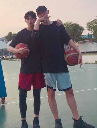 чанель exo кпоп баскетбол
