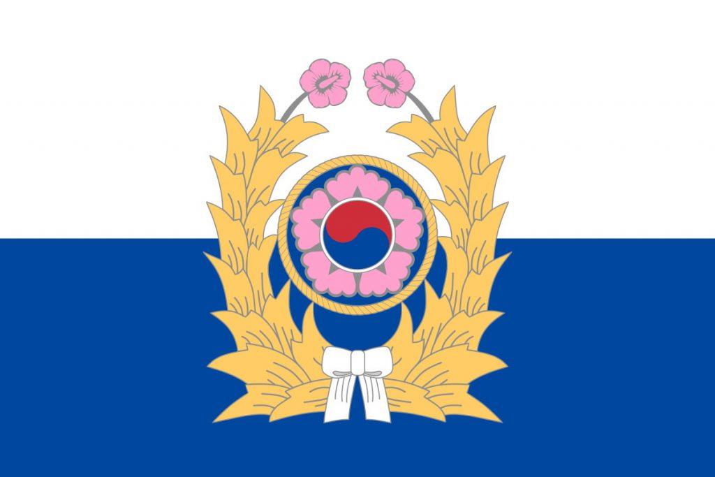 Drapeau armée de terre Corée du Sud