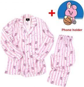 Pyjama rose pour femmes Cooky de bt21
