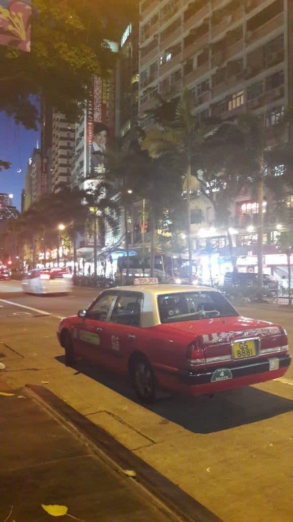 такси в Гонконге