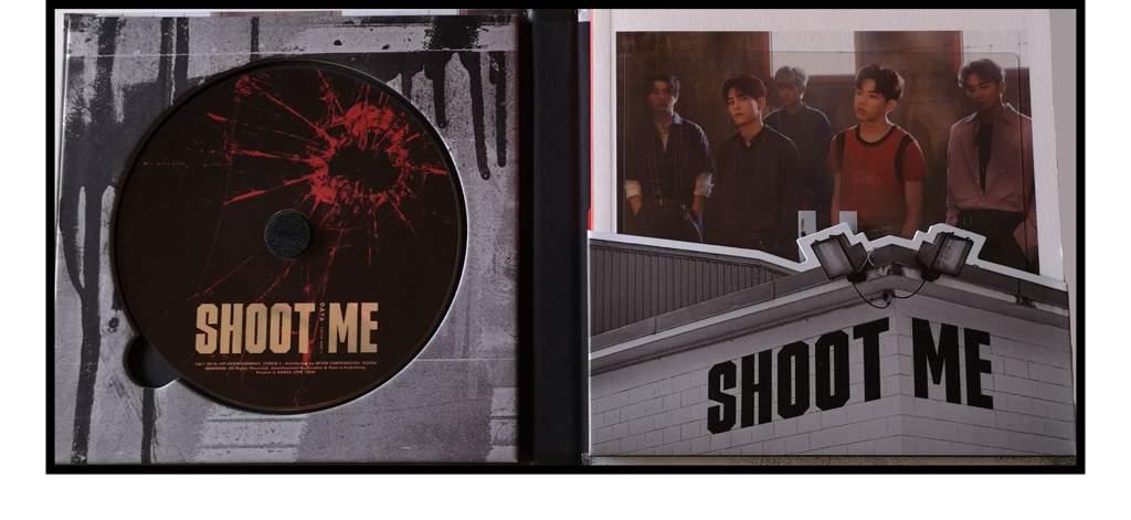 day6 - shoot me распаковка альбома кпоп