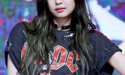 Jennie du groupe KPOP BLACKPINK