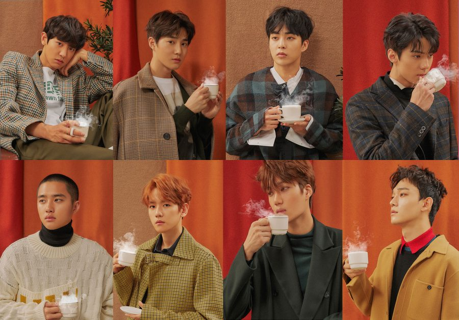 кпоп эра exo Cafe Universe фото клип