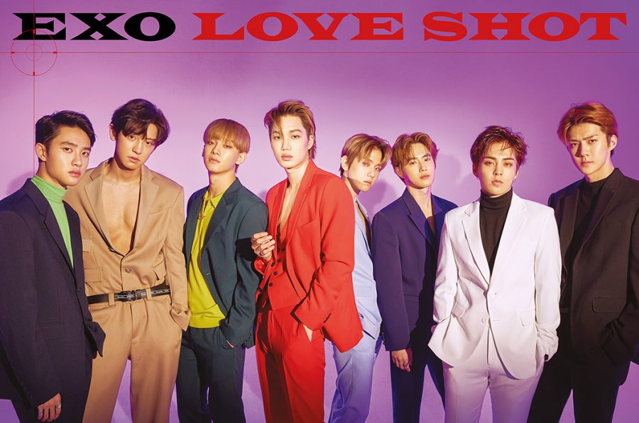 кпоп эра exo Love Shot фото клип