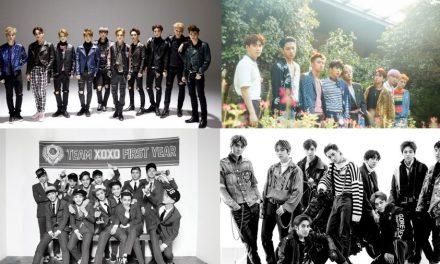 Эры EXO (дебют, фотографии, клипы)