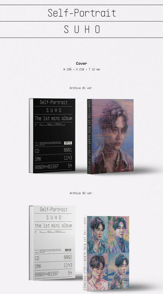 купить кпоп Альбом Сухо (EXO) - Self-Portrait 1
