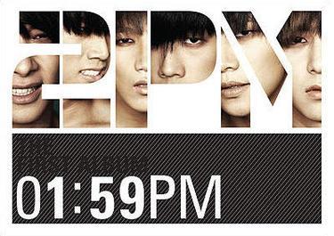 Альбом 2PM – 1:59PM