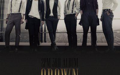 ALBUM 2PM – GROWN