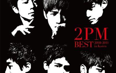 JAPANESE ALBUM 2PM BEST ~2008-2011 IN KOREA