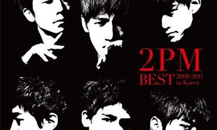 Японский альбом 2PM Best ~2008-2011 in Korea~