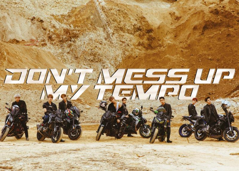 купить кпоп альбом EXO – DON`T MESS UP MY TEMPO описание треки распаковка фото