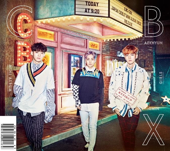 купить кпоп альбом EXO-CBX Girls описание треки распаковка фото