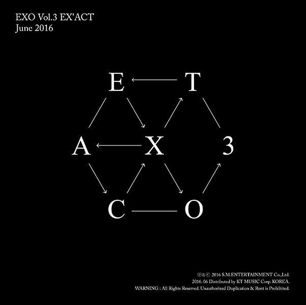 купить кпоп альбом EXO - EXACT описание распаковка треки фото