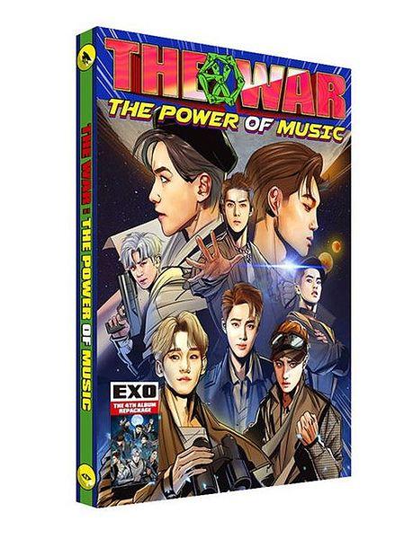 купить кпоп альбом EXO - The Power Of Music описание треки распаковка фото