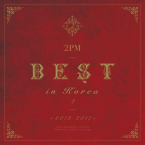 купить японский кпоп альбом 2PM BEST IN KOREA 2 2012-2017 описание распаковка треки фото