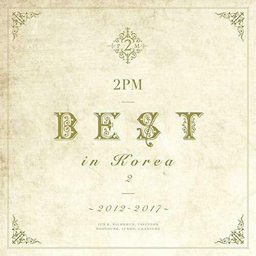 купить японский кпоп альбом 2PM BEST IN KOREA 2 2012-2017 LIMITED EDITION Type A