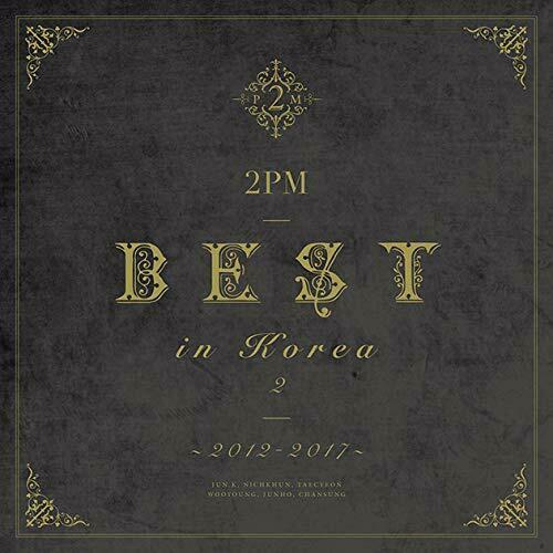 купить японский кпоп альбом 2PM BEST IN KOREA 2 2012-2017 LIMITED EDITION Type B