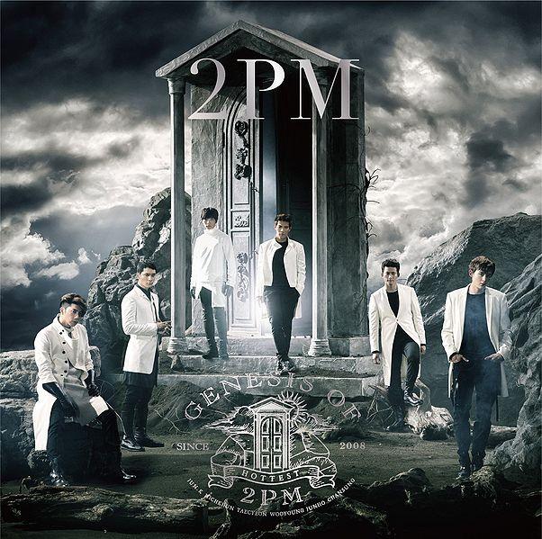 купить японский кпоп альбом 2PM GENESIS OF 2PM описание треки фото распаковка