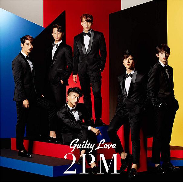 купить японский кпоп альбом 2PM - Guilty Love описание распаковка треки фото