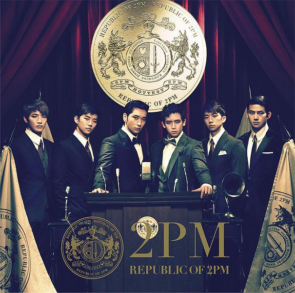 купить японский кпоп альбом 2pm republic of 2pm