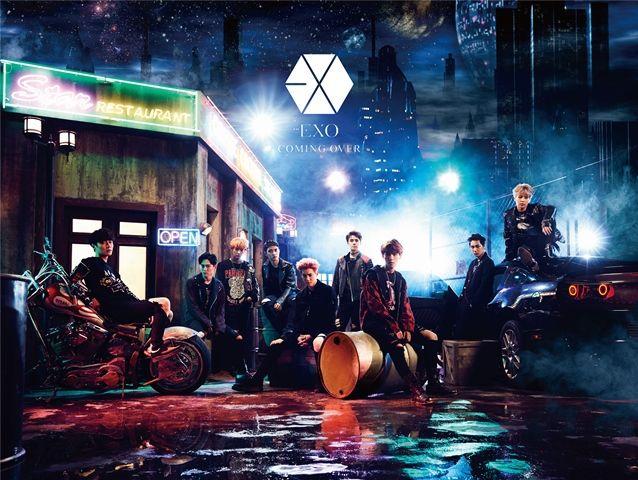 купить японский кпоп альбом exo Coming Over описание треки распаковка фото