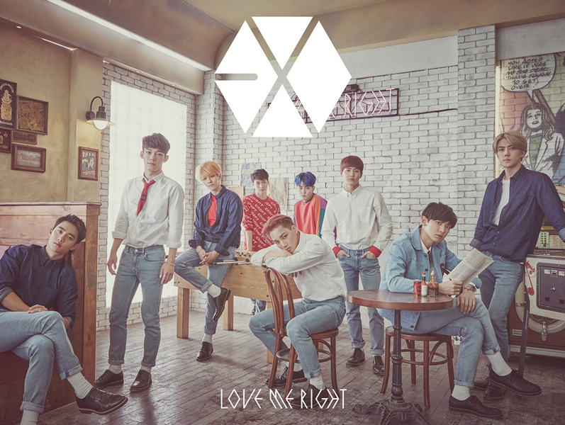 купить японский кпоп альбом exo Love Me Right romantic universe описание треки распаковка фото