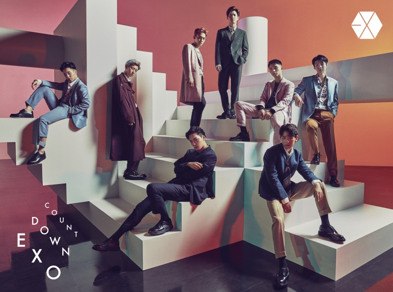 купить японский кпоп альбом exo countdown описание треки распаковка фото