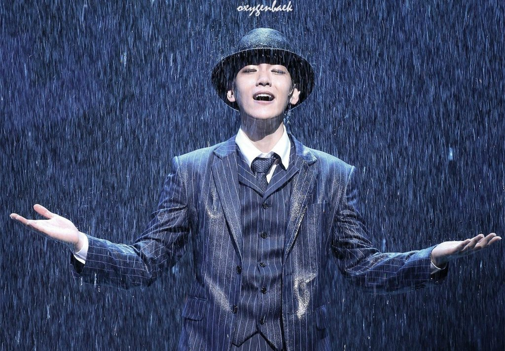 бэкхён exo мюзикл поющие под дождем Singin' in the Rain