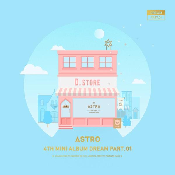 купить кпоп альбом ASTRO – Dream Part.01 описание треки клипы распаковка фото