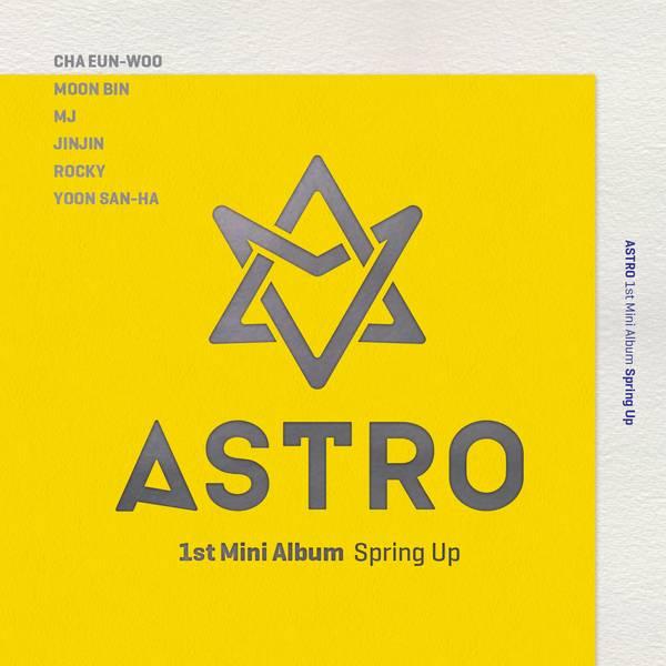 купить кпоп альбом ASTRO - SPRING UP описание треки распаковка клипы фото