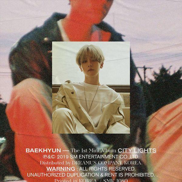 купить кпоп альбом Baekhyun - City Lights треки, фото, распаковка