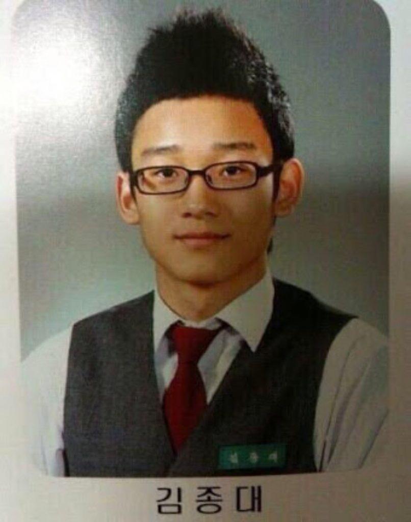чен exo фото до дебюта в школе