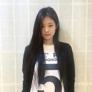 Jennie des Blackpink en 2012