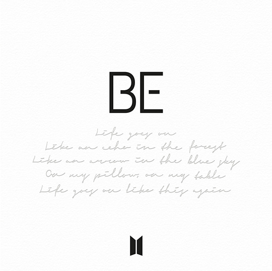 кпоп альбом BTS BE DELUXE EDITION корея