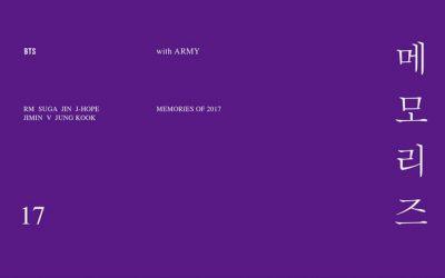 Альбом BTS – BTS MEMORIES OF 2017