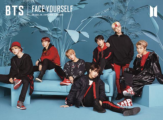 купить японский кпоп альбом bts FACE YOURSELF описание распаковка фотографии участников клипы треки