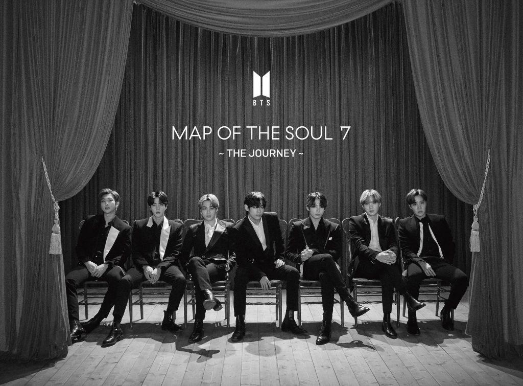 фото японского альбома bts Map of the Soul 7 The Journey