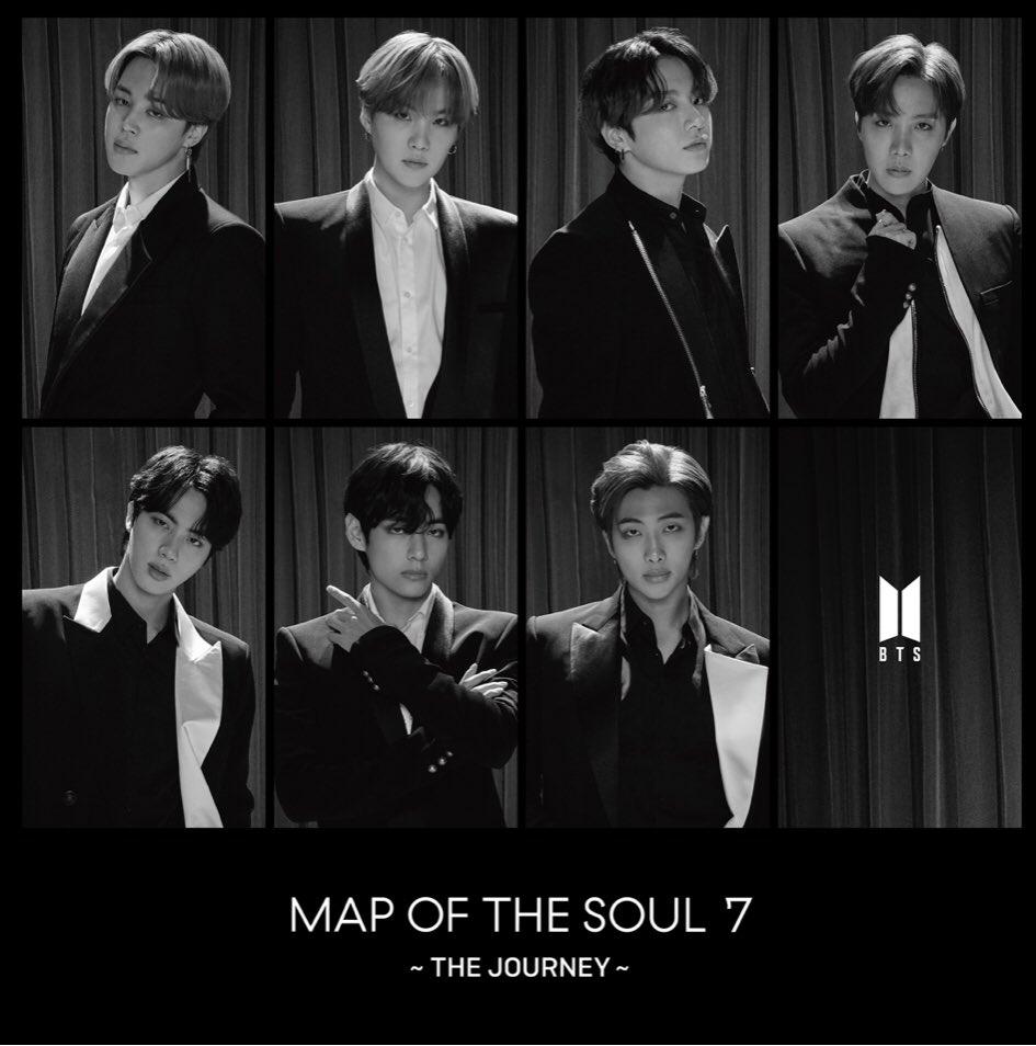 японский кпоп альбом bts Map of the Soul 7 The Journey Fanclub edition фото