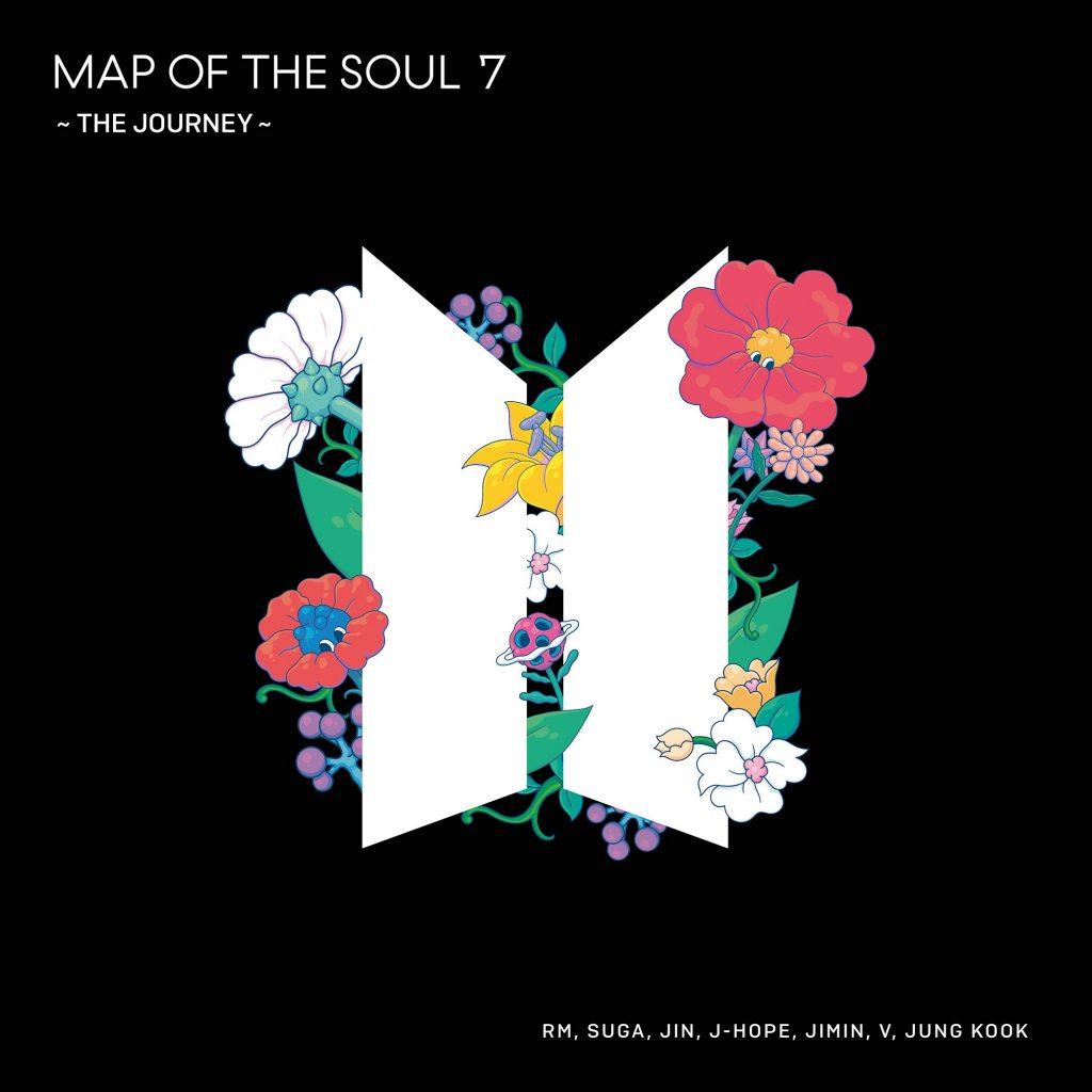японский кпоп альбом bts Map of the Soul 7 The Journey regular edition фото