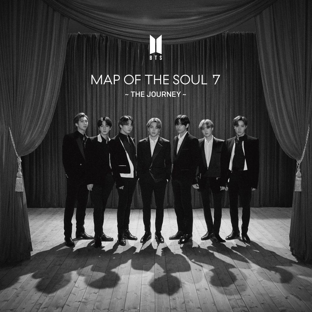 японский кпоп альбом bts Map of the Soul 7 The Journey Seven Net Edition фото