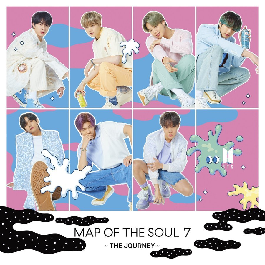японский кпоп альбом bts Map of the Soul 7 The Journey Universal edition фото