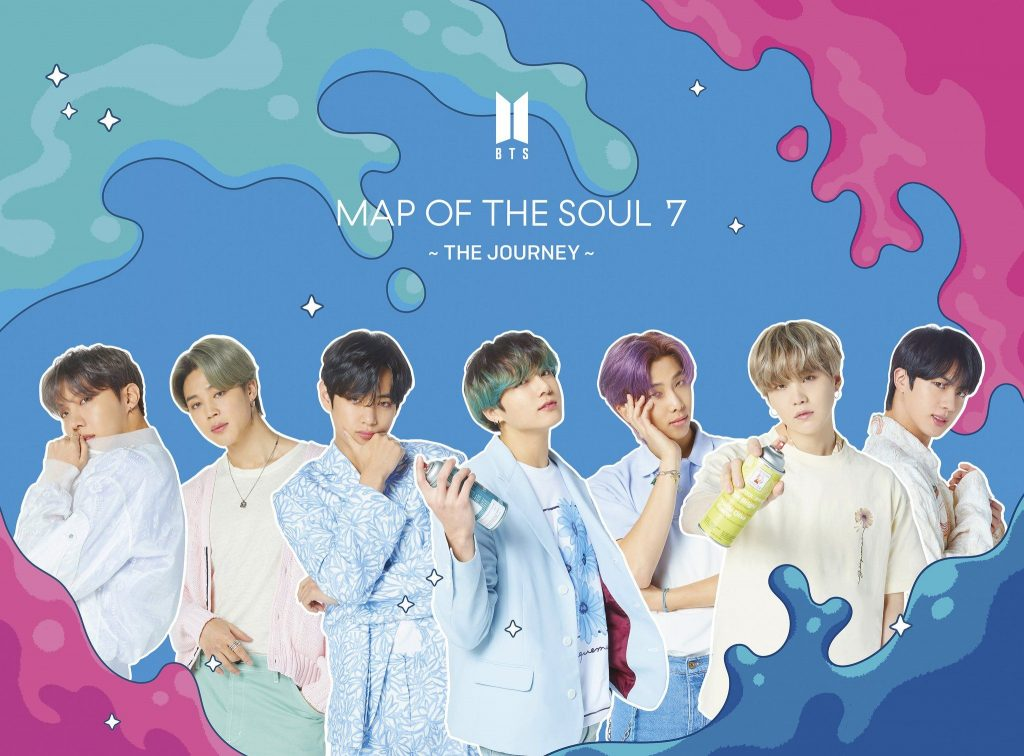 фото японский кпоп альбом bts Map of the Soul 7 The Journey limited edition b
