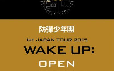 Японский альбом BTS – 1st JAPAN TOUR 2015 WAKE UP: OPEN YOUR EYES