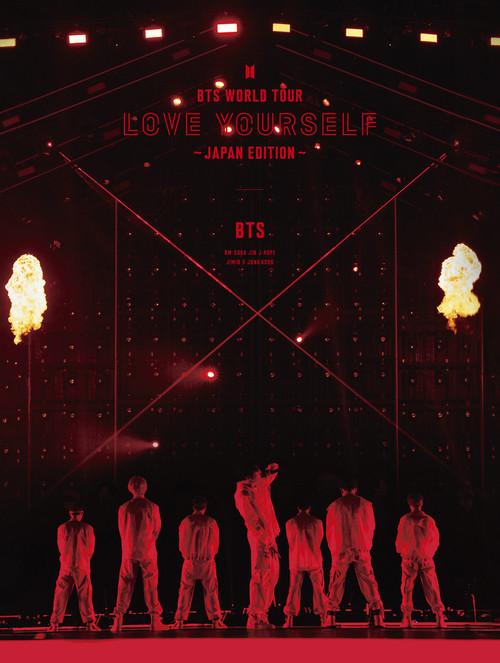 купить японский альбом BTS WORLD TOUR LOVE YOURSELF JAPAN EDITION фото япония кпоп
