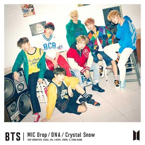 купить японский альбом bts MIC Drop DNA Crystal Snow Версия Limited edition A фото