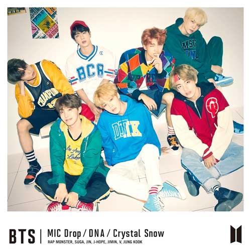 японский альбом bts MIC Drop DNA Crystal Snow Версия Limited edition B фотография