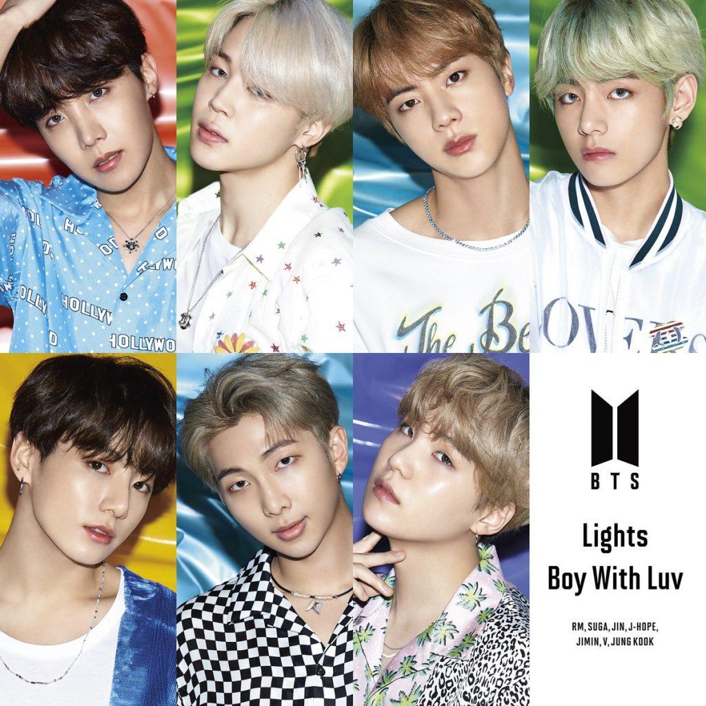 японский альбом bts lights boy with luv Версия Fan club Edition кпоп