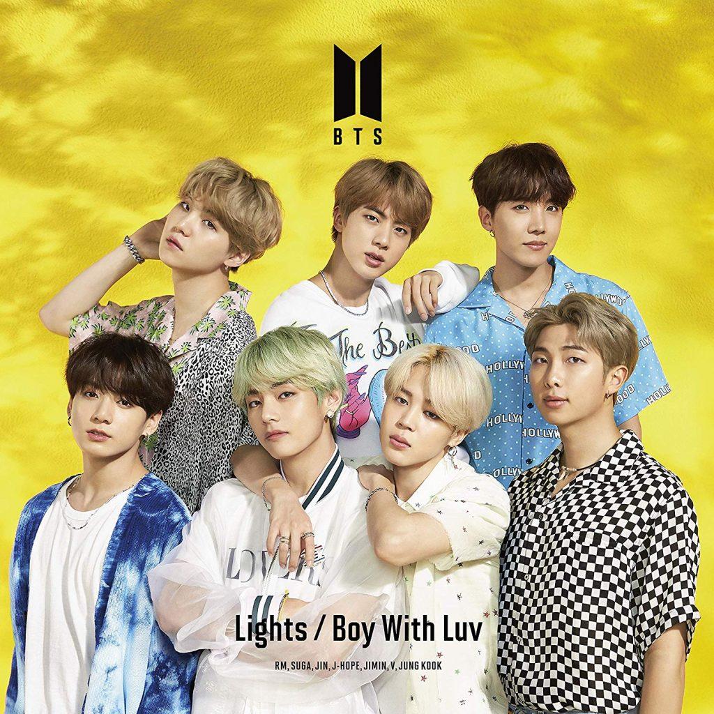 японский альбом bts lights boy with luv Версия Limited Edition C кпоп