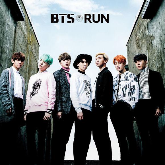 японский кпоп альбом bts run Версия BTS SHOP edition япония